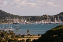 Falmouth during Antigua Charter Yacht Meeting 08 from Horsford Hill