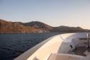 Approaching Simi aboard E&E