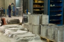 In the stainless steel manufacturing section