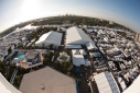 View of the Fort Lauderdale International Boat Show from Bahia Mar Hotel