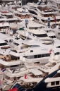 View of the Fort Lauderdale International Boat Show from the Bahia Mar Hotel