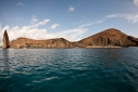 Bartolome Island from offshore