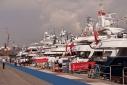 Yachts on Marina San Giusto dock