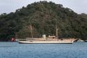 Nahlin at anchor off Gocek