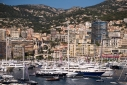 Monaco Yacht Show from Fort Antoine