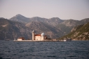 Lady of Rock island (Gospa Od Skrpjela) and St George island (Sveti Djordje) in the Bay of Kotor