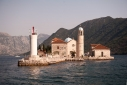 Lady of Rock island (Gospa Od Skrpjela) in the Bay of Kotor
