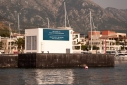 Entrance to Porto Montenegro from the sea