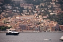 Villefranche-sur-Mer from aboard Big City