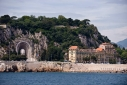 War Memorial in Nice from the sea