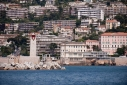 Entrance to Nice harbour