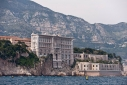 Oceanographic Museum in Monaco from thesea