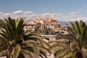 View of the Old town of Antibes from Bastion St Andre