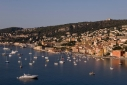 Looking down on Villefranche from the coast road above