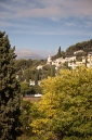 View from the walls of St Paul de Vence
