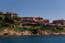 Houses at entrance to Porto Cervo