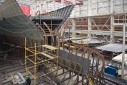 Project DY006 72.5 metre motoryacht under construction at Dunya Yachts