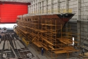 Project DY3 Red Square 72 metre motoryacht under construction at Dunya Yachts