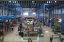 Vantage F45, hull number 3 at bare metal stage in dry dock in Royal Van Lent