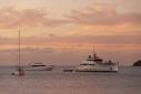 Exuma at anchor off Hermitage Bay