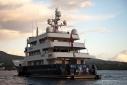 Big Aron at anchor off Charleston