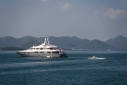 Mosaique in the anchorage off Gocek