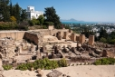Ruins of Carthage at the museum