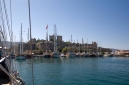 Bodrum Castle from the sea aboard Gulet Sultan A
