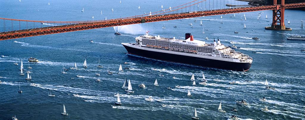 Queen Mary 2 To Race Against Sailing Yachts  The Howorths
