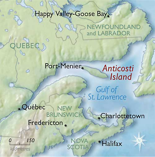 Where Is Anticosti Island Located On The Map Of Canada Visiting Anticosti Island   The Howorths | The Howorths