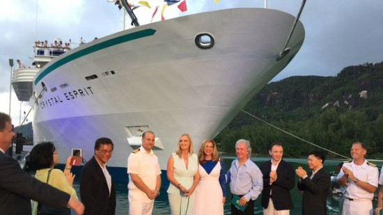 Super Yacht Launches Crystal Cruises Next Chapter The Howorths The Howorths