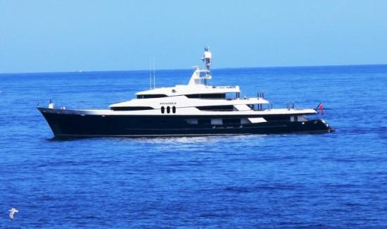 Yacht AMADEUS - Image Courtesy of Live Yachting-680