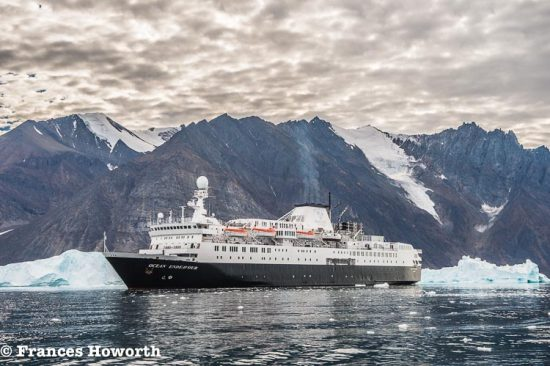 Ocean Endeavour in Karrat Fjord