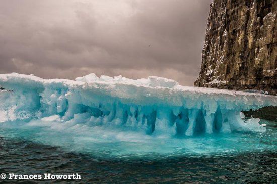 Sea ice off Beechey Island