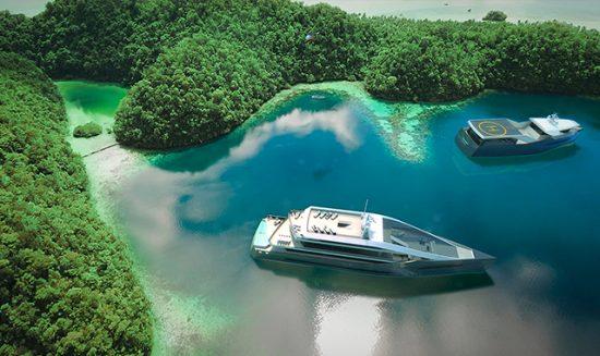 Rolls Royce Hybrid Yacht Concept