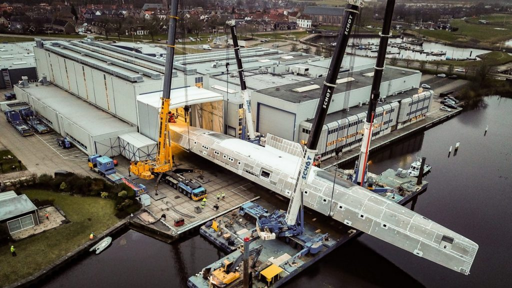 Royal Huisman Seek Larger Premises