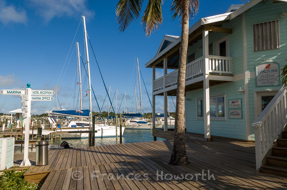 Moorings office in the Abacos