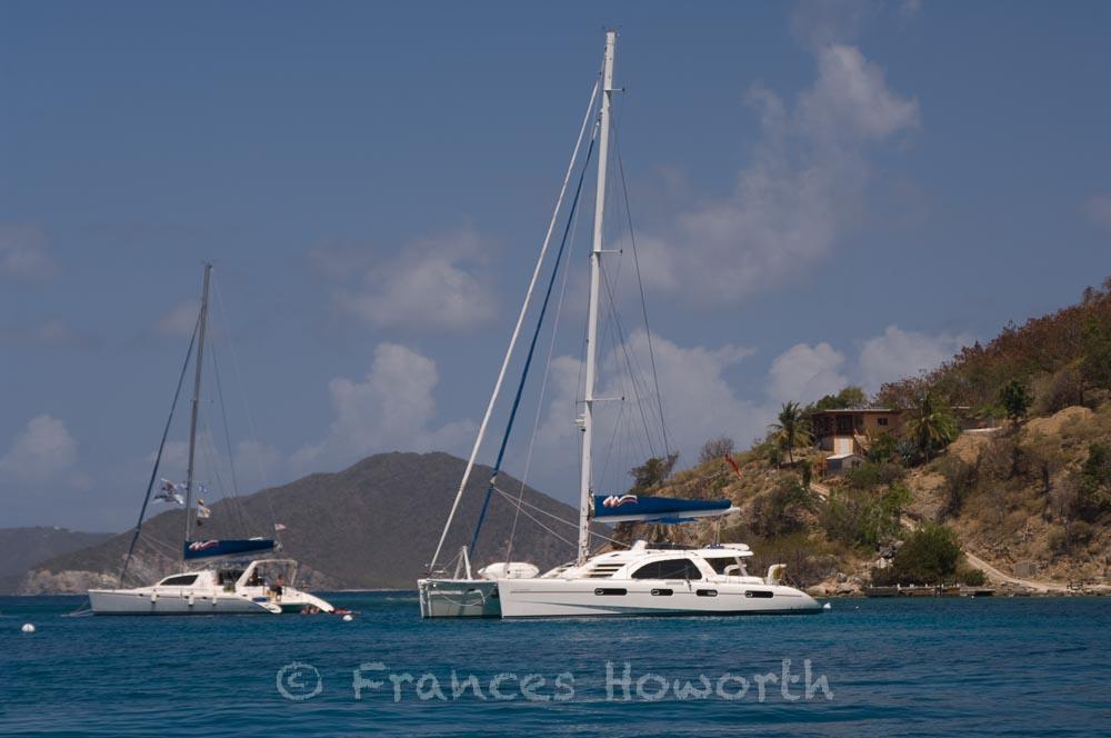 Moorings yacht