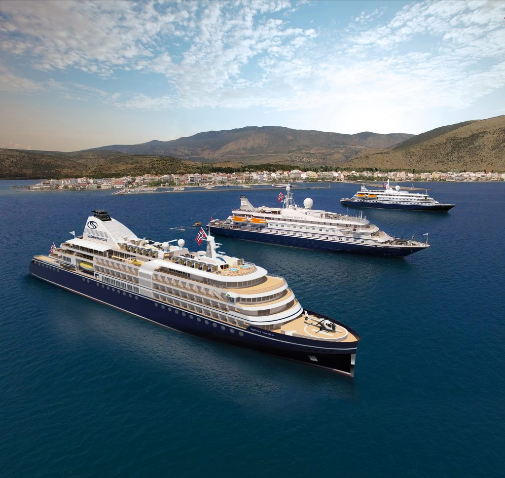 SeaDream Innovation and sister ships