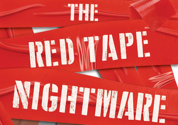 Caribbean Red Tape gone mad