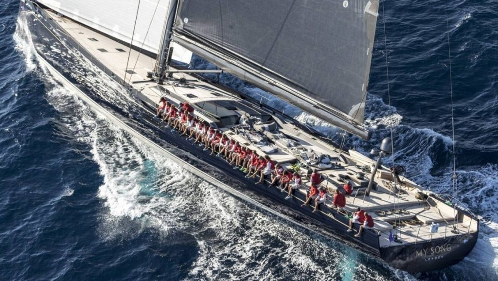 My Song to miss Loro Piana Superyacht Regatta