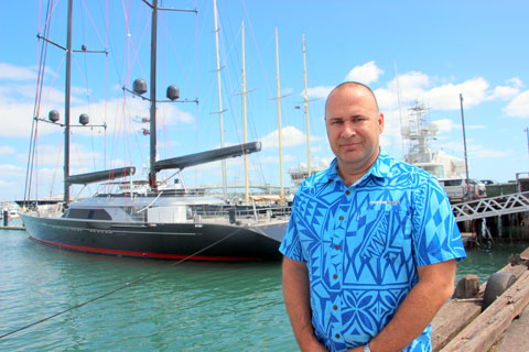 Mark Donaldson managing director National Marine Pacific
