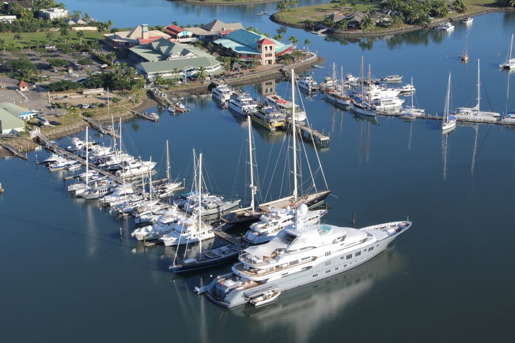 Port Denarau is a marina built specifically to cater for superyachts