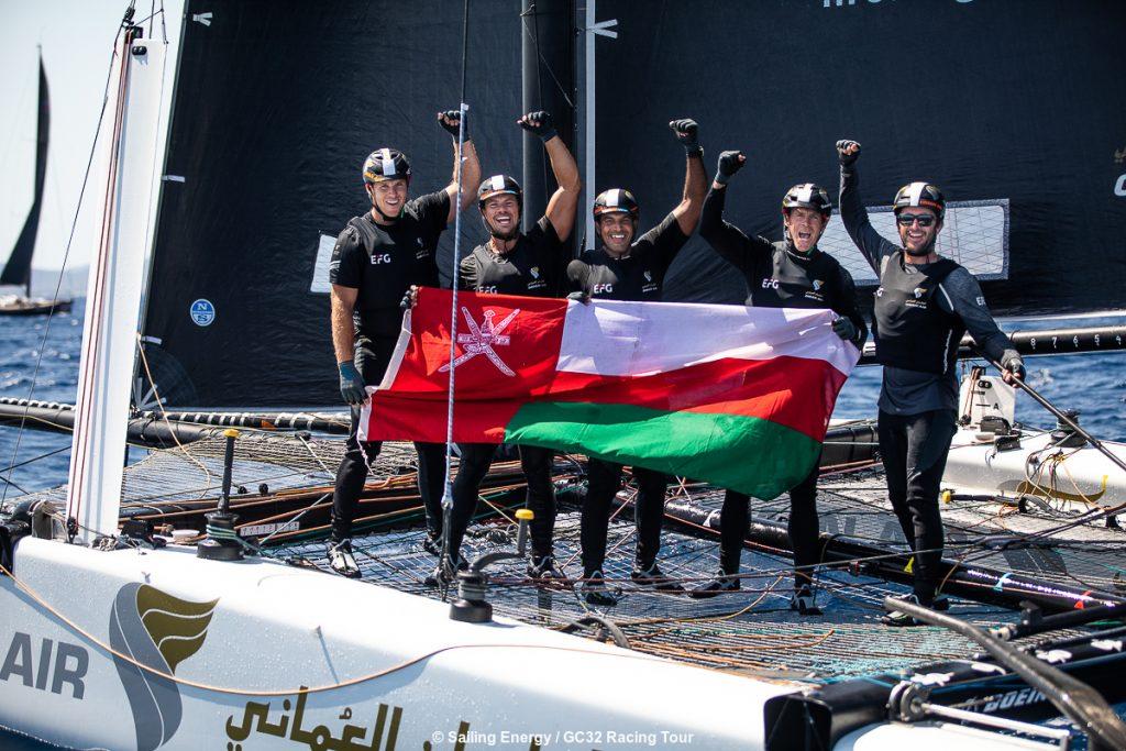Oman Air sailing team doing well