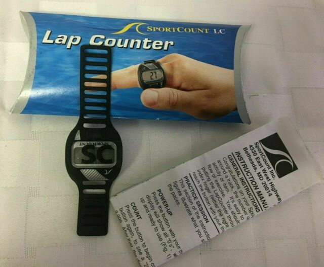 The LapCounter can also be used by anyone needing to count anything besides pool laps.