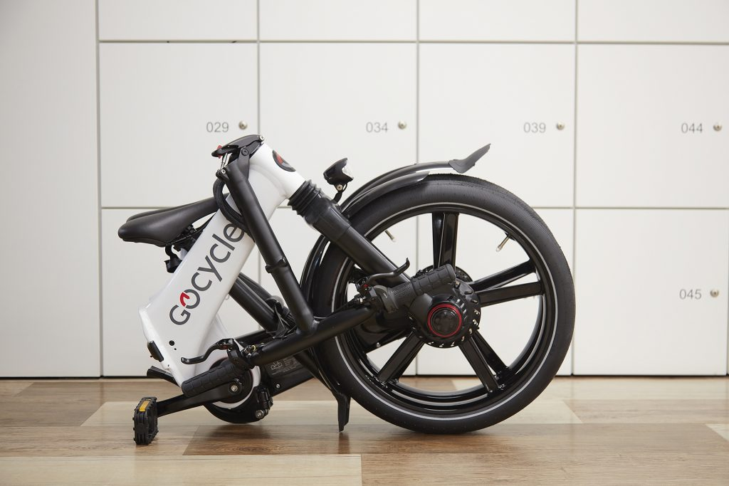 Gocycle GX offers exceptional comfort levels and ride dynamics while being capable of being folded and stowed into a compact package in just 10 seconds