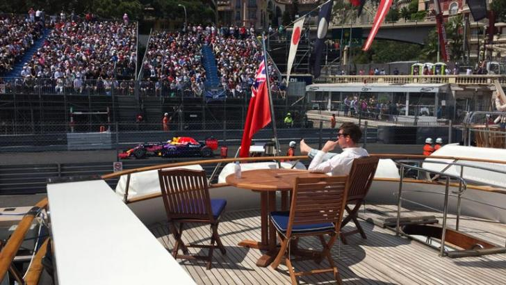 almost everyone who had booked a yacht for the Monaco Grand Prix suffered loss