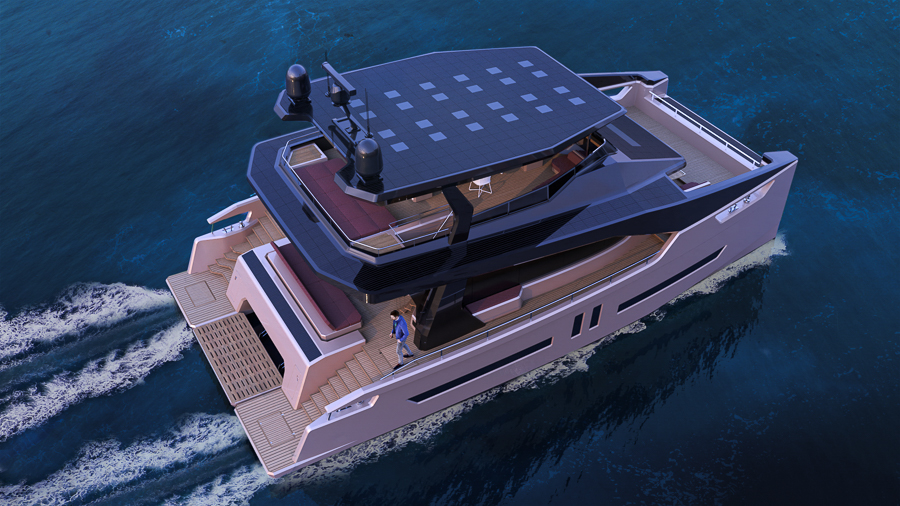 Alva Yachts Offers floating environmental solutions for the upper level of the houseboat market