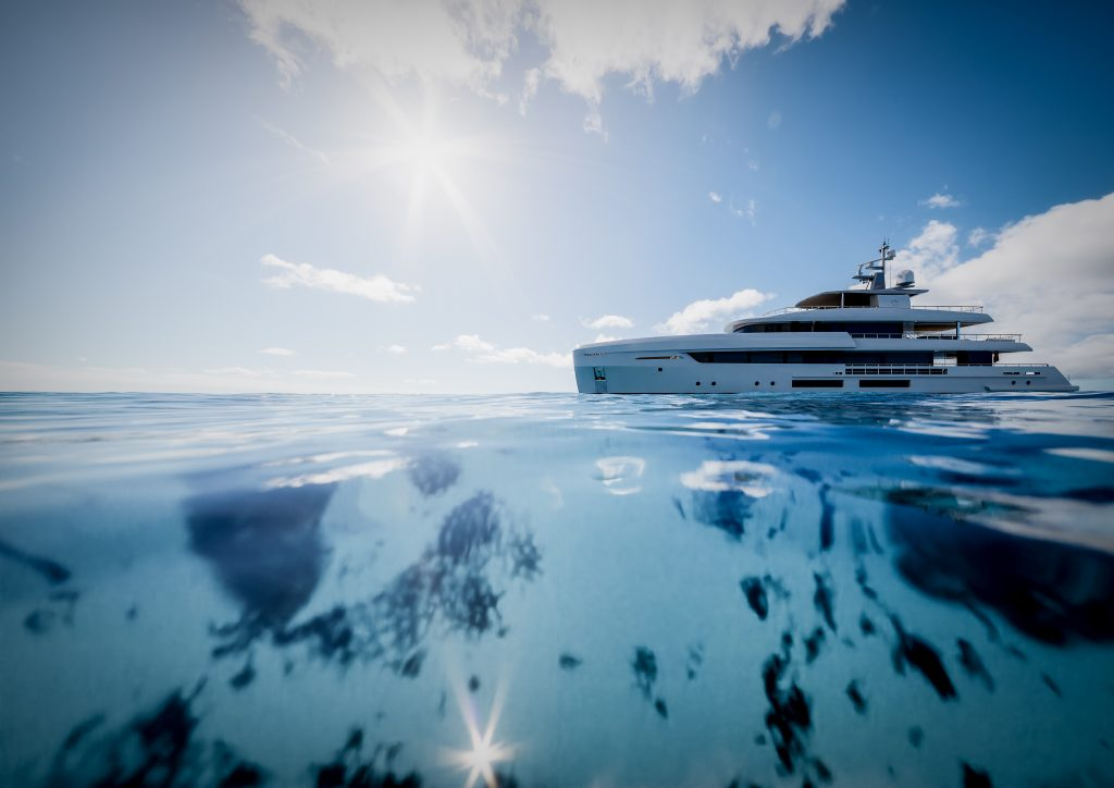 ankoa Yachts have unveiled their T450 which they describe as a 45-metre yacht with the soul of a much larger vessel