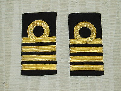 Captains Epaulets. Being qualified a Captain and  actually becoming one are however two entirely different things
